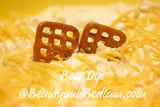 beer dip - for football season!