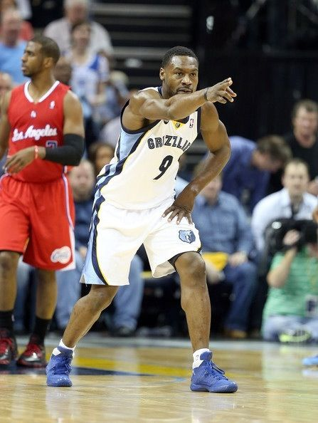 Tony Allen Memphis Grizzlies Chris Paul Los Angeles Clippers