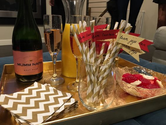 Bachelor Finale Viewing Party - not the biggest Bachelor fan but I love themed parties and this has some great ideas!