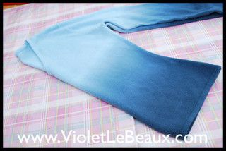 Tutorial- Reshaping a Sweater into a Cardigan by Violet LeBeaux, via Flickr