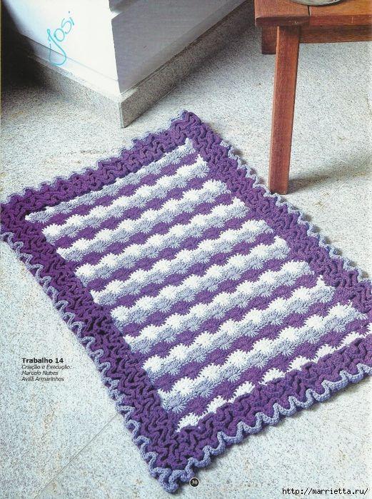 вязание крючком. коврики (27) (521x700, 431Kb)