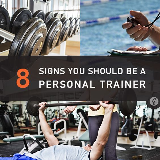 8 signs you would be an awesome personal trainer | personal, Human Body