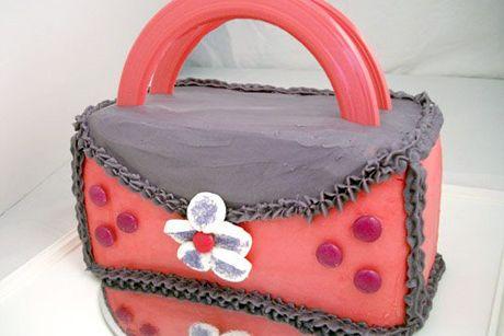 Cakes and Baking Handbag Birthday Cake