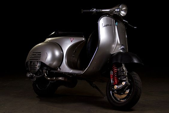 Vespa Touring VGLA1T 1959 by garagerocker