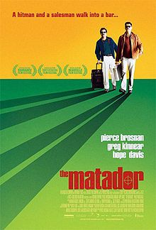"The Matador. A businessman and a hit man strike up a friendship. This was one of the biggest surprise ""LOVED IT"" movies ever. Glad to see someone else enjoyed it."