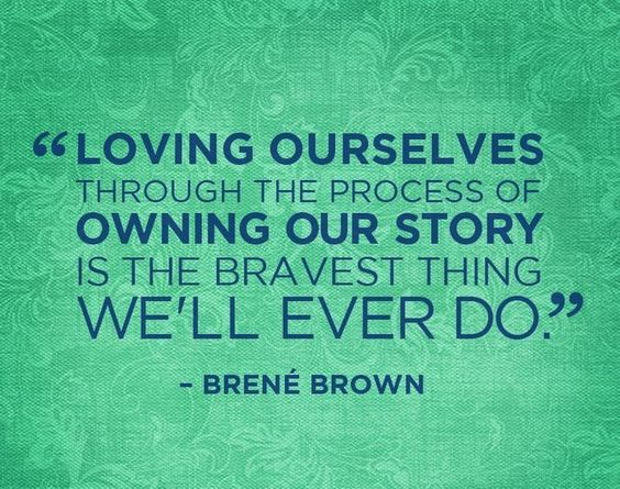"Brene Brown is one of my favorite authors and gives me all sorts of ""aha's"" - which author just gets you?"