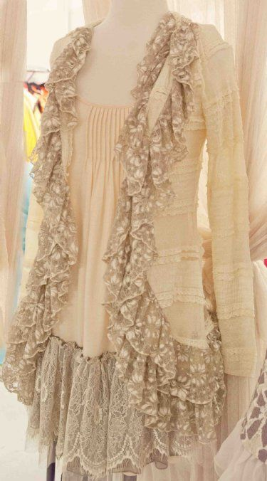 shabby romantic clothes: