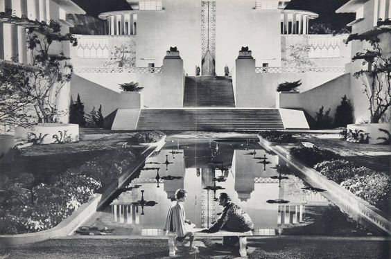 Lost Horizon (Frank Capra, 1937). Art direction Stephen Goosson. Set Decoration Babs Johnstone.: