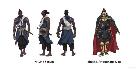 Anime Yasuke Ra Mắt Dàn Diễn Viên Nhật Bản Với Đoạn Giới Thiệu Mới