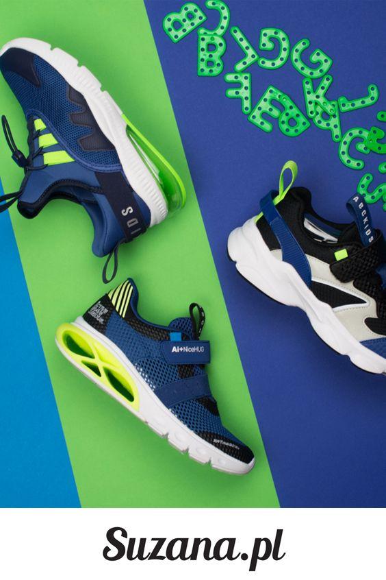 Granatowe Sportowe Buty Dzieciece Suzana Pl 201 Hoka Running Shoes Sneakers Nike Running Shoes