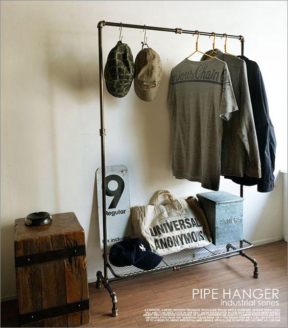 【楽天市場】パイプハンガー/アンティークフレンチパリ北欧シャビー雅姫レトロインダストリアルtruck furniture店舗什器:UNIROYAL