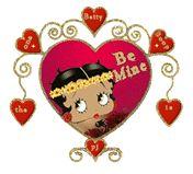 Betty Boop Free Animated Wallpaper screensavers | Romantic Betty Boop Animated Gifs