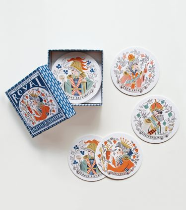 Royal Cocktail Coaster Set