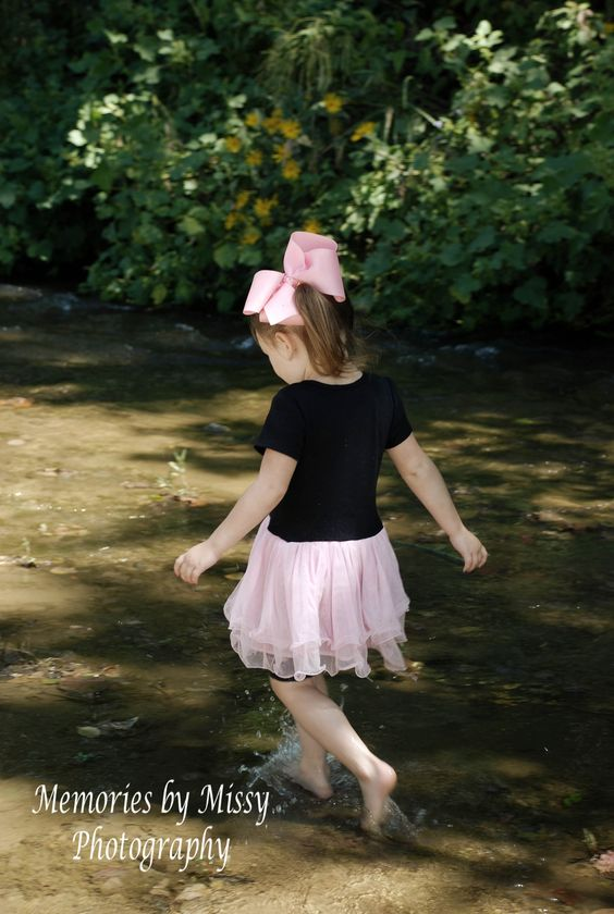 {Wading The Creek}