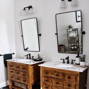 Pottery Barn Vintage Pivot Mirror