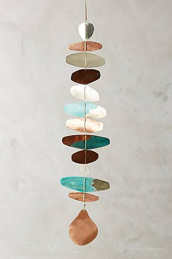 Copper Hanging Art: