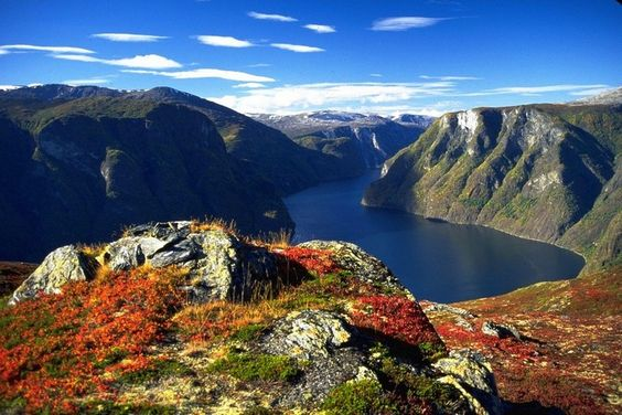 Beautiful Norwegian Fjords