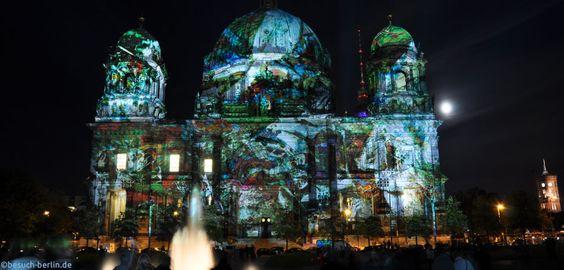 Berliner Dom zum Festival of Lights  http://besuch-berlin.de