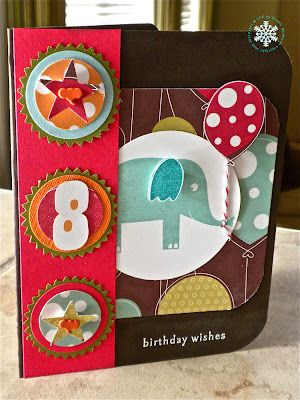 SFYTT Elephant birthday card