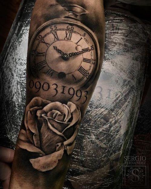 95 Tatuajes Para Hombres En El Brazo Ideas Excelentes Tatuajes Para Hombres Tatuaje Reloj De Bolsillo Tatuajes De Relojes