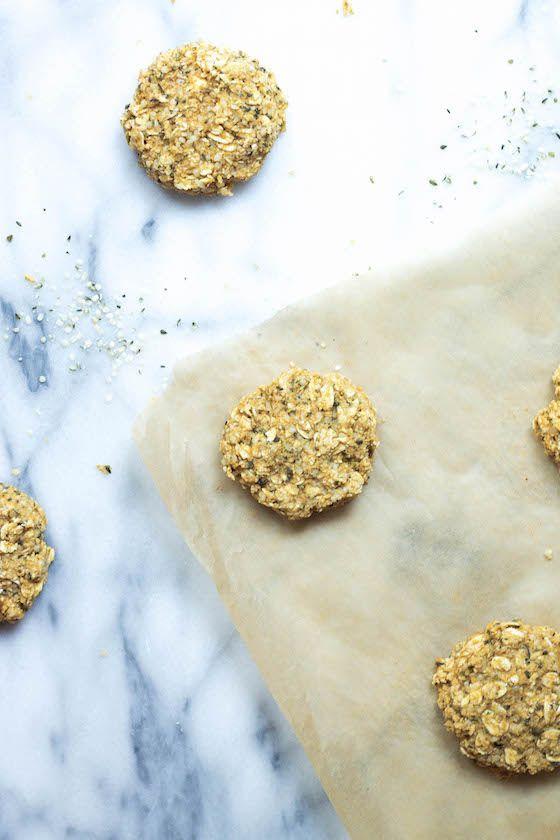 Pumpkin & Hemp Oatmeal Cookies (Vegan & Gluten-free) | Hemp, Oatmeal ...