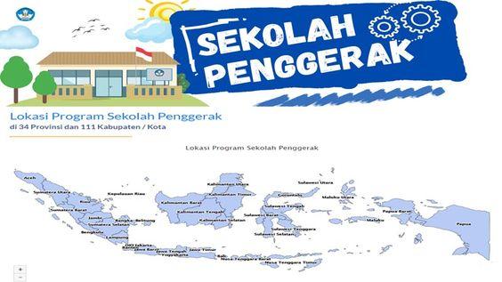 Daerah Sasaran Sekolah Penggerak Angkatan 1 Di 2021 Sekolah Gerak Kepala Sekolah