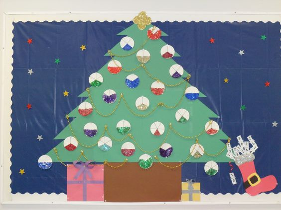 And more fractions xmas trees trees xmas christmas trees the end end