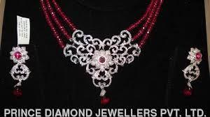 Image result for indian diamond pendant set designs