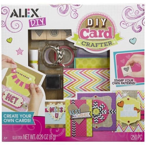 Alex Diy Card Crafter Kit Colorful Impressions Diy Cards Toy Craft Crafts