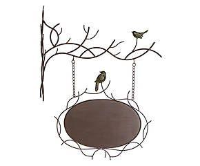 PLACA DE PAREDE BIRDS