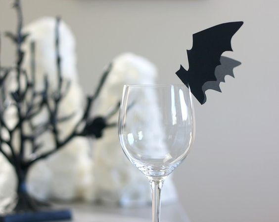 Bat Place Cards - cute:
