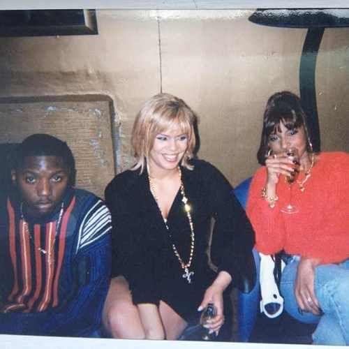 Lil Cease, Faith Evans & Mary J. Blige.