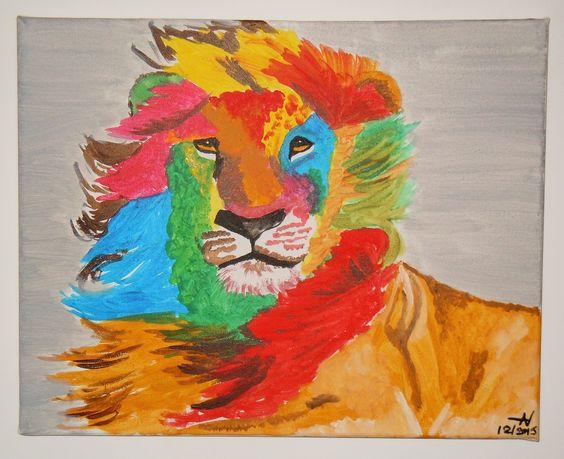 Like a Lion in Zion