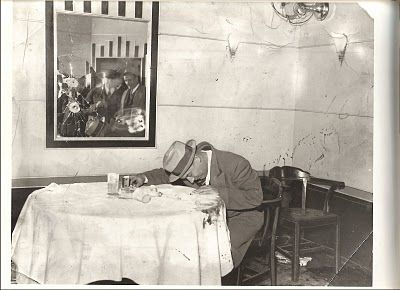Dutch Schultz Murder Scene | dutch schultz in newark cafe after machine gun attack detectives find ...