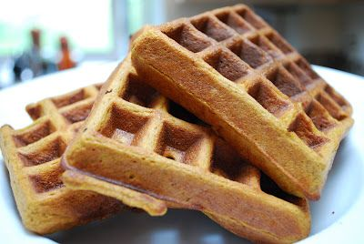 Healthy waffells -  NO flour - made with yams, eggs and coconut flour