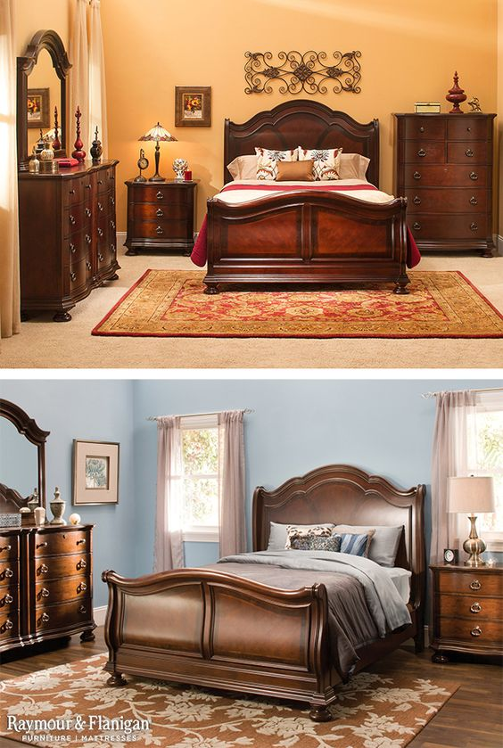 If you\'re a lover of classic bedroom sets, this Wilshire ...