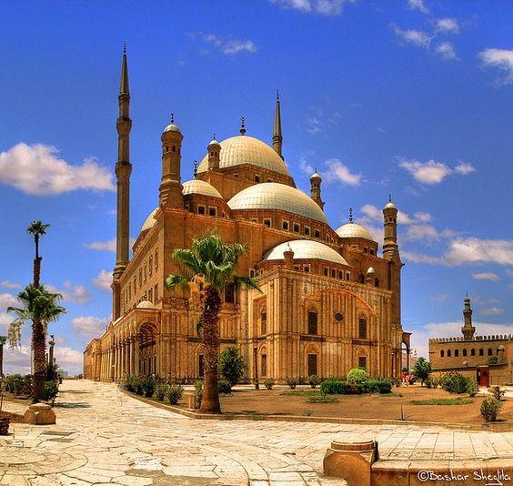 Cairo Egypt Mohamed Ali Mosque.