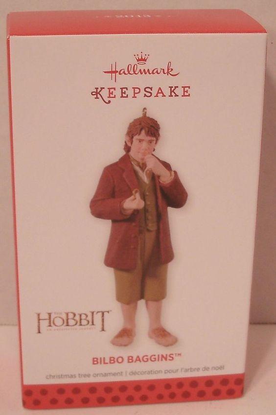 Hallmark Ornament 2013 Bilbo Baggins Hobbit LOTR Tolkien NIB NEW Christmas Tree