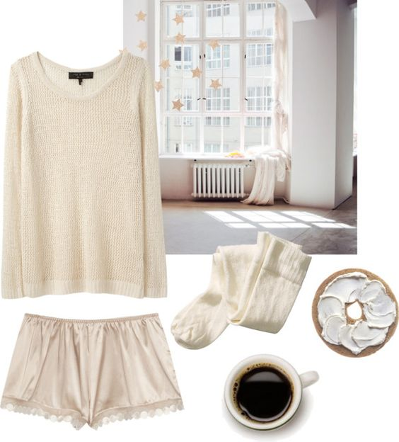 """""""sunday morning"""" by bonevear ❤ liked on Polyvore"""