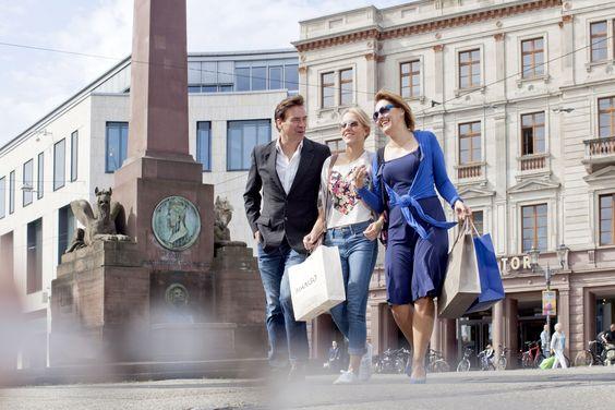 Shoppingtour durch Karlsruhe, Go Shopping in Karlsruhe,