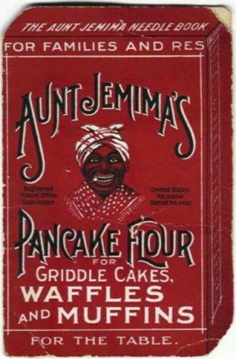 Old Time Aunt Jemima Pancake Flour Ad.