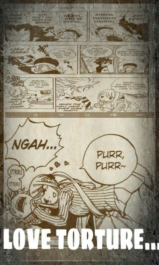 Even natsu is getting strokes from it...