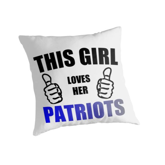 THIS GIRL LOVES HER PATRIOTS by Divertions