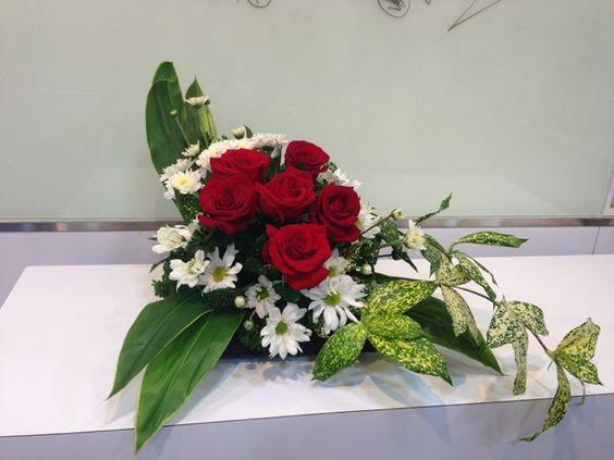 How To Make Ikebana Flower Arrangement | How To Make A Presentable Flower  Arrangement For Home Decor 2 ... | Barbu0027s Nursery And Floral Shop |  Pinterest