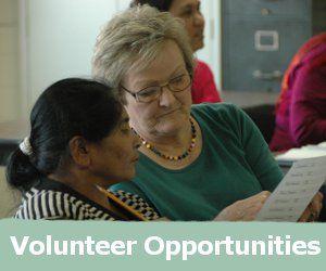 volunteer-Catholic Charities Lou
