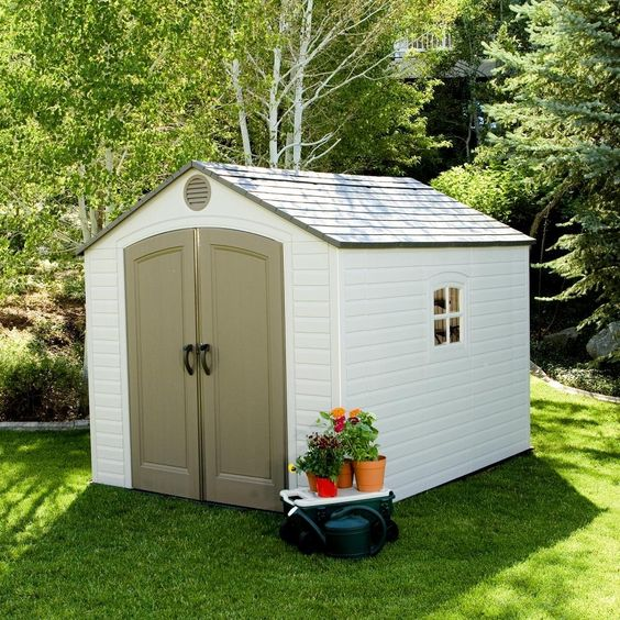 Arrow Metal Sheds 6x7 Small Backyard Garden Outdoor Storage Shed Building  Kits #ArrowShedsarrowshedsarrowstoragesheds | Build A Shed | Pinterest |  Outdoor ...