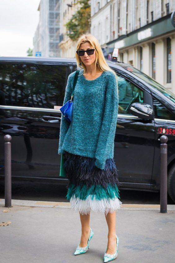 Day 3 | Paris Fashion Week Street Style Spring 2018 | POPSUGAR Fashion Photo 49