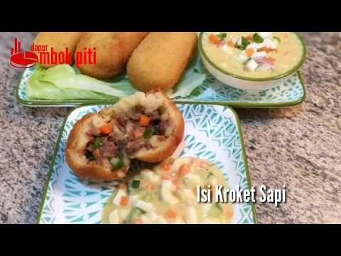 Resep Komplit Kroket Kentang Lembut Anti Pecah Isian Dan Saus Mustard Youtube Kentang Kroket Resep