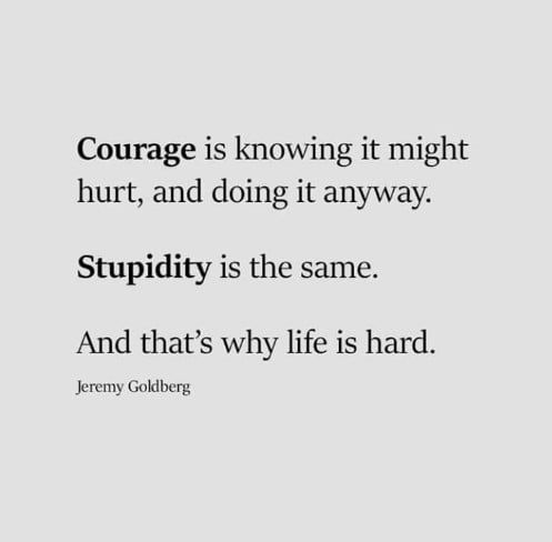 Feeling courageous.. - 9GAG