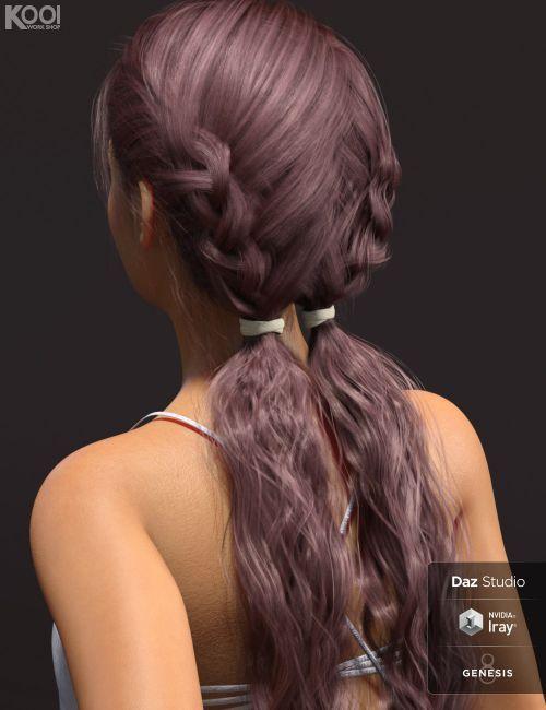 Vicky Hair For Genesis 8 Female S 3d Hair For Daz Studio Dazstudio 3dmodel Womens Hairstyles Hair Long Hair Styles